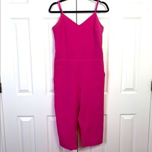 Mustard Seed pink overall jumpsuit